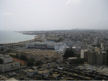 Dakar from up high