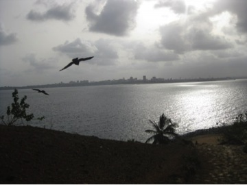 View of Dakar from Goree
