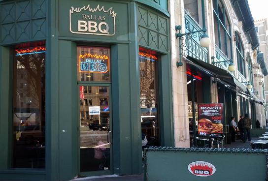 Dallas BBQ at Broadway and 167th Street
