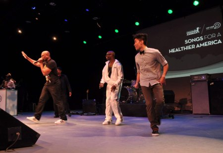 The Hip Hop Public Health Album Launch Party at the New York Symphony Space